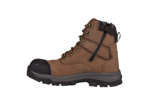 Tradiecare Brown Apollo Safety Boots