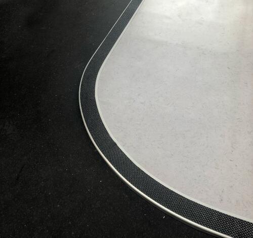 Tredsafe AA125CN CONTOURED Carpet Trim - no insert 2.5m length