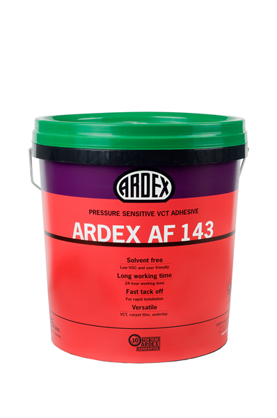 Ardex AF143 Vinyl, Carpet, and Tile Adhesive 15 kg