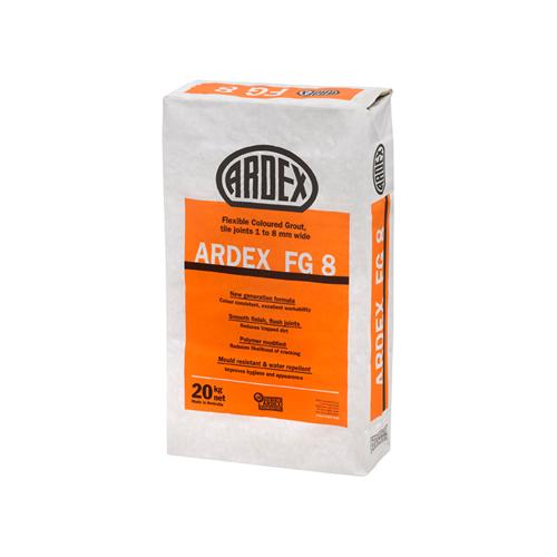 Ardex FG8 Slate Grey Flexible Coloured Grout 20 kg