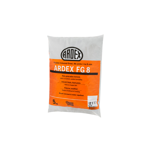 Ardex FG8 Travertine Flexible Coloured Grout 5 kg