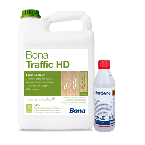 Bona Traffic Hd And Hardener Silk Matt