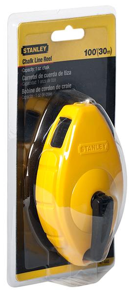 Stanley 47-200 100-Inch Chalk Line Reel 30 metre