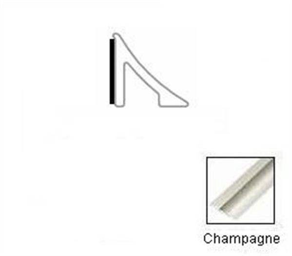 Tredsafe Luxury Vinyl Tile DT055  Edge Cap Champagne