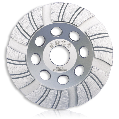 Tusk DTC Diamond Turbo Cup Grinding Wheel
