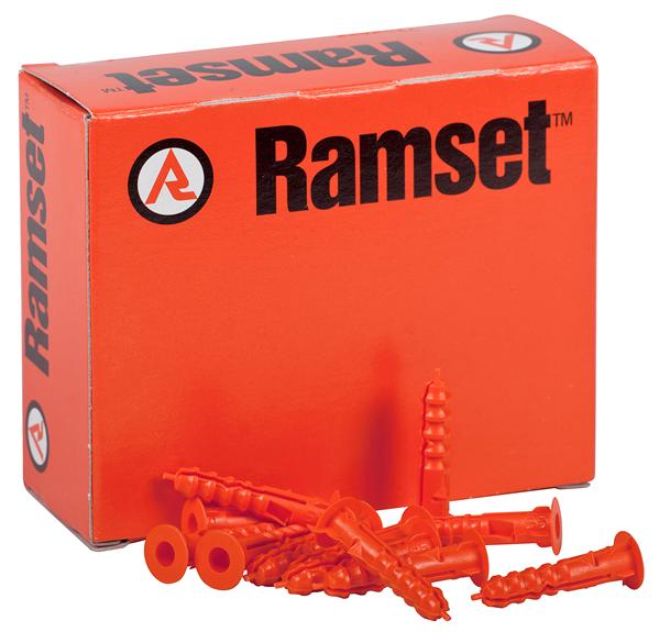 Ramset DNP05 Ramplug 5mm Nylon Frame Anchor 100 Pack