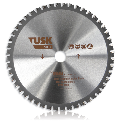 Tusk Steel Tungsten Cold Cut Carbide Blades