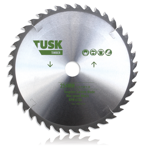 Tusk TTBM 216 Timber Tungsten Carbide Blade 216 mm