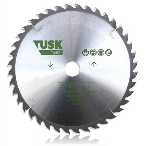 Tusk TTBM 216 Timber Tungsten Carbide Blade 216 mm