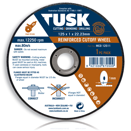 Tusk Thin Metal Cut-Off Wheel 10 pack