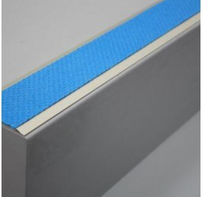 Tredsafe AA129 uncovered stairs - no insert per metre