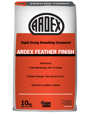 Ardex Feather Finish Rapid Drying Smoothing Compound 10 kg