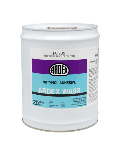 Ardex WA98 Solvent-Based Contact Adhesive 20L Pail