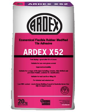 Ardex X 52 Economical Tile Adhesive 20 kg