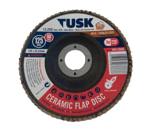 Ceramic Flap Disc 115 x 22.23