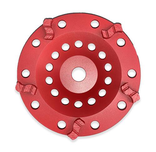 S Row Cup Grinding Wheel 180mm