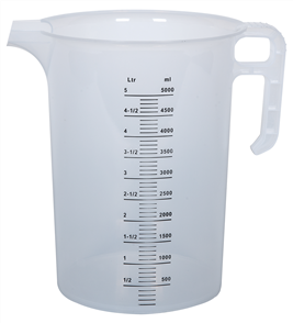 Calibrated Measuring Jug 5 Litre