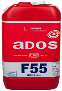 ADOS F55 Sprayable Contact Adhesive Red 20 litre