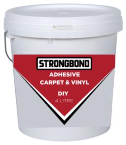 Strongbond DIY Carpet & Vinyl Adhesive 4 Litre