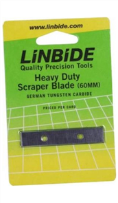 Linbide 60mm Scraper Replacement Blades