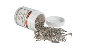Roberts Drive Screw Rippletrim Nails Silver Thin Shank 1 kg jar