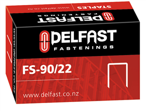 Ramset Delfast Galvanised Staples 90 Series 22 mm - 5000