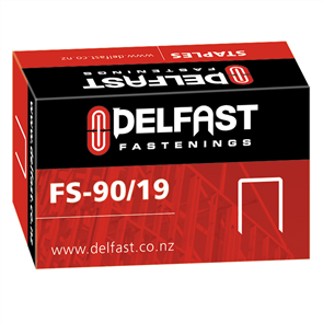 Ramset Delfast Galvanised Staples 90 Series 19 mm - 5000