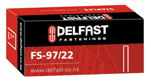 Delfast Galvanised Staples 97 Series 22 mm - 5000