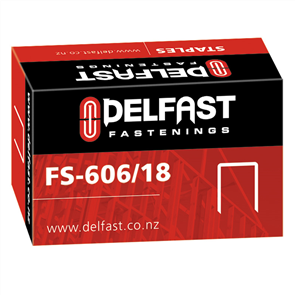 Ramset Delfast Galvanised Staples 606 Series 18 mm - 5000