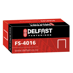 Delfast Galvanised Staples 40 Series 16 mm - 5000