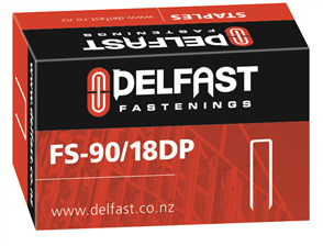 Delfast Divergent Point Staples 90 Series 18 mm - 5000
