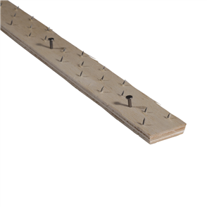 Strongbond Architectural Carpet Tack Strip 7.5mm Concrete