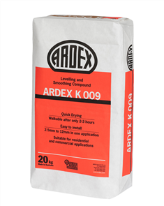 ARDEX K009 Levelling and Smoothing Compound 20 kg