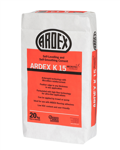 Ardex K15 Microtec Self-Levelling and Self-Smoothing Compound 20 kg