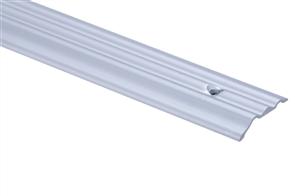 Strongbond Silver Ripple 1156.L20 Trim Aluminium Vinyl Floor Trim 2440mm