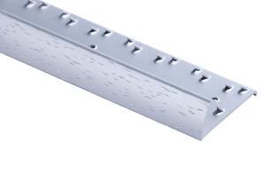Strongbond Domestic Hammered Naplock Aluminium Floor Trim 2.44m