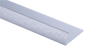 Strongbond Silver Hammered Pinless 3113.L20 Naplock Floor Trim 2.44m