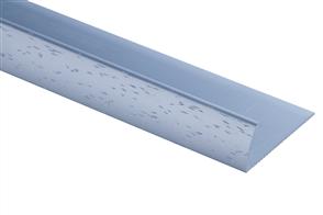 Strongbond 8113.L20 Pewter Hammered Pinless Naplock Floor Trim 2440mm