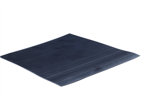 Elastomer Flat Black 150mm Skirting 15m coil