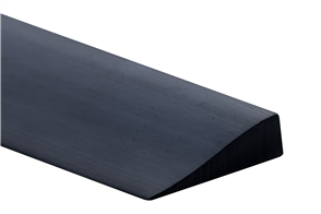 Elastomer Black Carpet 6mm  PVC Reducing Strip 30m coil