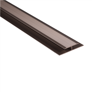 Roberts Bronze Junior Expansion 50.E25B Joint Cover Aluminium Floor Trim 3.3m