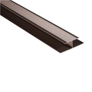 Roberts Bronze Senior Expansion 50.E25B Joint Cover Aluminium Floor Trim 3.3m