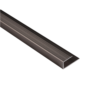 Roberts Bronze Mid 50.E18B End Aluminium Floor Trim 3.3m