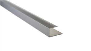 Roberts Silver Senior End Aluminium 50.E20S  Floor Trim 3.30m