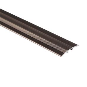 Roberts Bronze Senior 50.E12B Laminate Cover Aluminium Floor Trim 3.3m