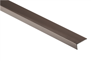 Roberts Bronze Angle Multi End Aluminium 50.E23B  Floor Trim 3.30m