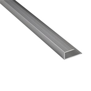Roberts Silver Mid 50.E18S End Aluminium Floor Trim 3.3m