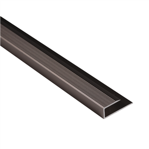 Roberts Bronze Junior 50.E17B End Aluminium Floor Trim 3.3m