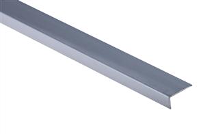 Roberts Silver Angle Multi End Aluminium 50.E23S  Floor Trim 3.30m