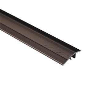 Roberts Bronze Senior 50.E16B Ramp Aluminium Floor Trim 3.3m
